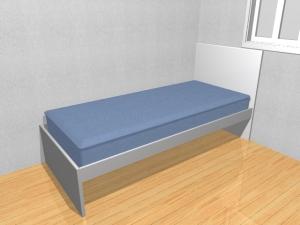 Dorm. de Solteiro 02 B