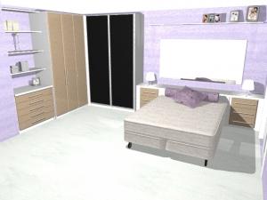 Projeto - Dormitório Casal -5